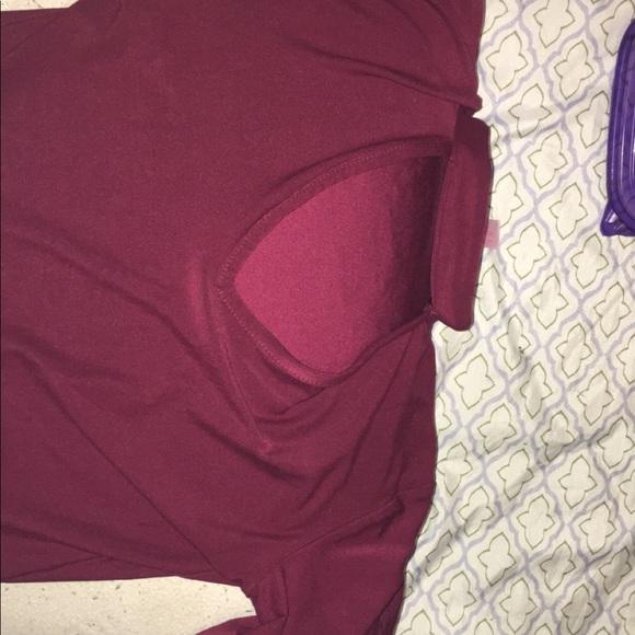 idk Dresses & Skirts - NOBO Burgundy dress